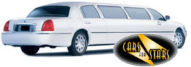 Limo Hire Northampton - Cars for Stars (Northampton) offering white, silver, black and vanilla white limos for hire
