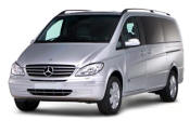 Chauffeur driven Mercedes Viano people carrier - Up to 7 passengers in comfort, from Cars for Stars (Northampton)